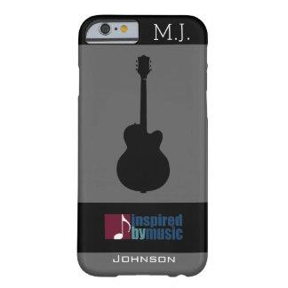 音楽インスパイア/ギター BARELY THERE iPhone 6 ケース
