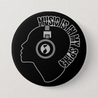 音楽カスタムな色ボタン 缶バッジ