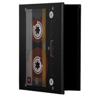 音楽カセットテープレトロのiPadの空気箱