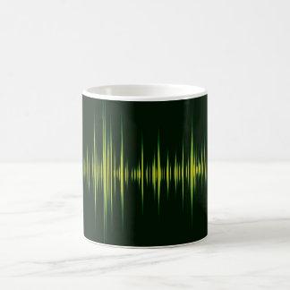 音楽グラフィックの平衡装置 モーフィングマグカップ