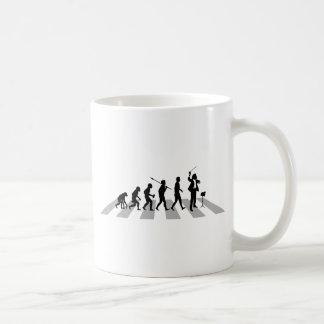 音楽コンダクター コーヒーマグカップ