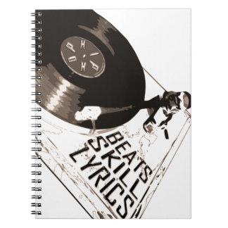 音楽シリーズパート2: ヒップホップ-ビートの技術の叙情詩 ノートブック