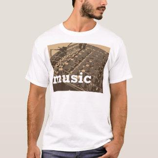 音楽スタジオのミキサー Tシャツ