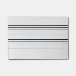 音楽スタッフのメモ帳 ポストイット