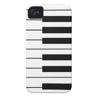 音楽テーマのピアノ鍵 Case-Mate iPhone 4 ケース