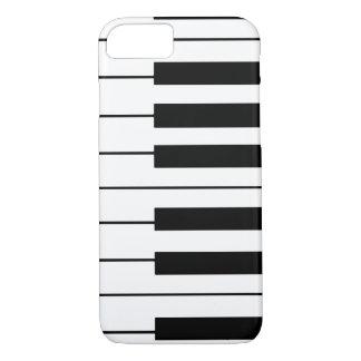 音楽テーマのピアノ鍵 iPhone 8/7ケース