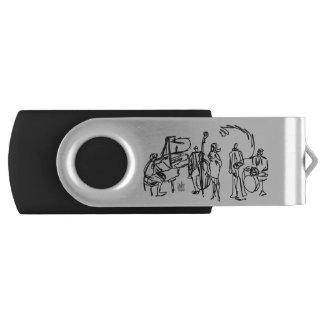 音楽テーマのフラッシュドライブ USBフラッシュドライブ