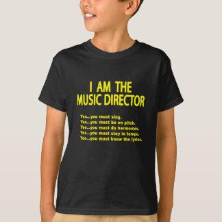 音楽ディレクター規則 Tシャツ