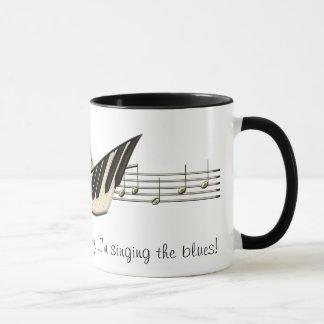 音楽デザインのコーヒー・マグ マグカップ