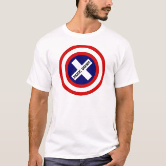 音楽デニムの愛国者 Tシャツ