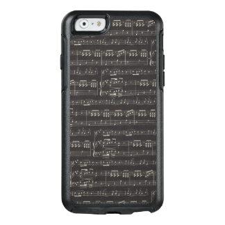 音楽ノートのIphone 6/6sのオッターボックスの場合 オッターボックスiPhone 6/6sケース