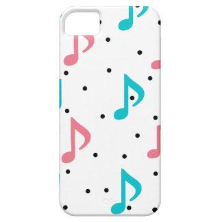 音楽ノートを雨が降ること iPhone SE/5/5s ケース