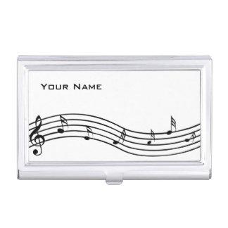 音楽ノート 名刺入れ