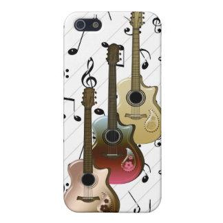 音楽プレーヤー3のギターパターンSpeckの場合iPhone4 iPhone SE/5/5sケース