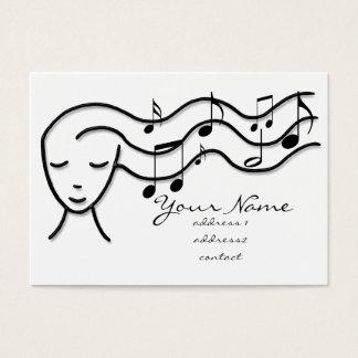 音楽プロフィールカード 名刺