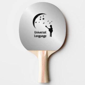 音楽世界共通語 卓球ラケット