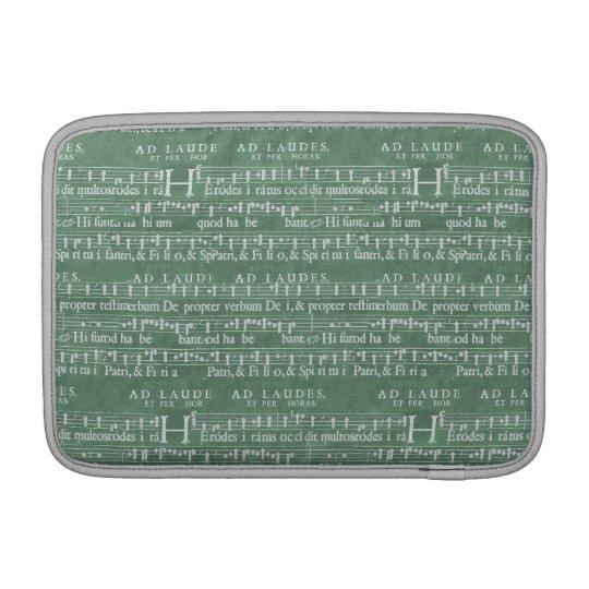 """音楽原稿Macbookの中世空気11""""袖 MacBook スリーブ"""