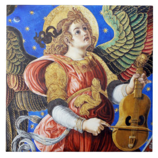 音楽天使のセラミックタイル タイル