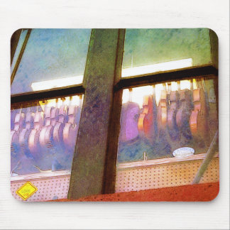 音楽店の裏窓 マウスパッド
