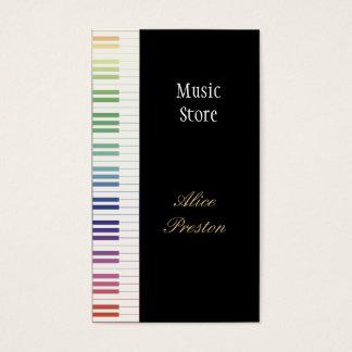 音楽店-名刺 名刺