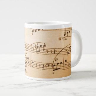 音楽愛好者のためのすばらしいマグ ジャンボコーヒーマグカップ