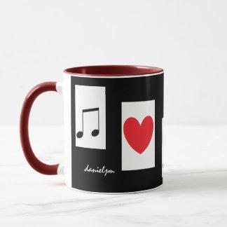 音楽愛好者のマグ マグカップ