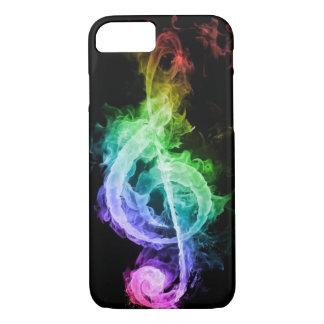 音楽抽象的なノート iPhone 8/7ケース