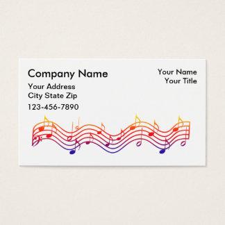 音楽業界カード 名刺