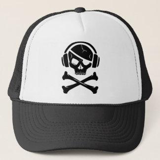 音楽海賊海賊行為のアンチriaaのロゴ キャップ