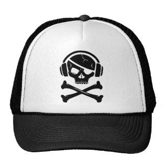 音楽海賊海賊行為のアンチriaaのロゴ トラッカーハット