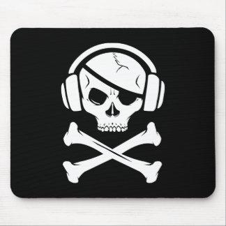 音楽海賊海賊行為のアンチriaaのロゴ マウスパッド