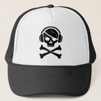 音楽海賊海賊行為のアンチriaaアイコン キャップ