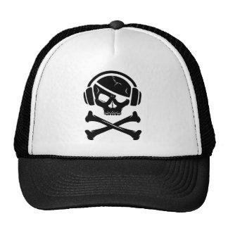 音楽海賊海賊行為のアンチriaaアイコン トラッカーハット