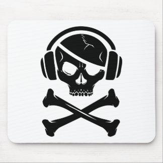 音楽海賊海賊行為のアンチriaaアイコン マウスパッド