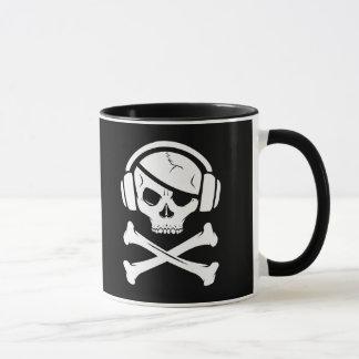 音楽海賊海賊行為のアンチriaaアイコン マグカップ