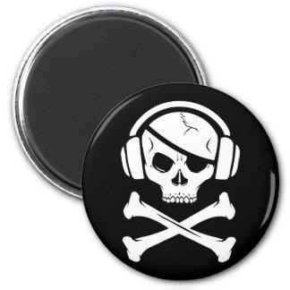音楽海賊海賊行為のアンチriaaアイコン マグネット