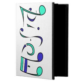音楽生命AmbigramのiPadの場合(ひっくり返して下さい!) iPad Airケース