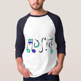 音楽生命AmbigramのTシャツ(前部及び背部デザイン) Tシャツ