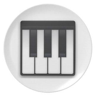 音楽的なキーボード- Emoji プレート
