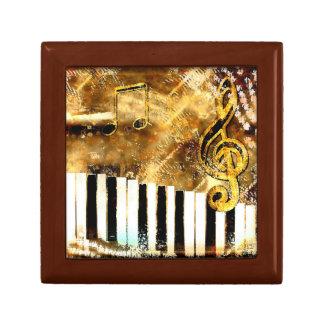 音楽的なグランジな記念品箱 ギフトボックス