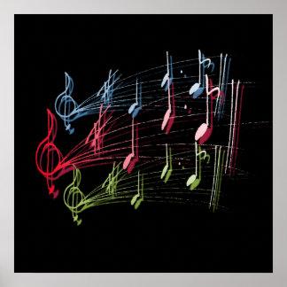 音楽的なスタッフ ポスター