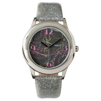 音楽的なノベルティの腕時計 腕時計