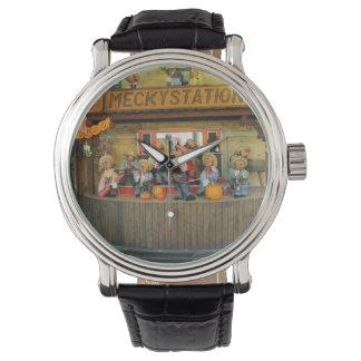 音楽的なハリネズミのカウボーイバンド 腕時計