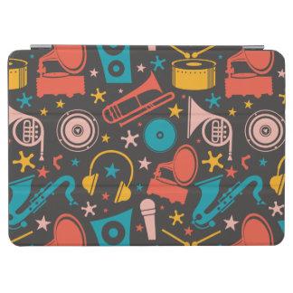 音楽的なパターン-楽器 iPad AIR カバー