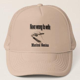 音楽的な天才trukerの帽子 キャップ
