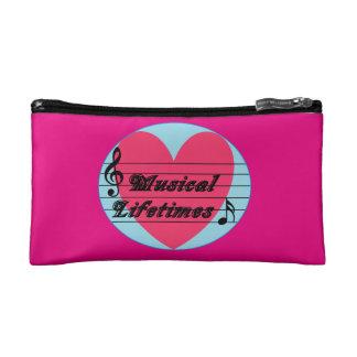 音楽的な寿命の元の化粧品のバッグ コスメティックバッグ