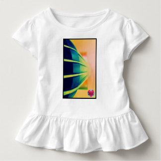 音楽的な寿命の子供のチェロのひだのTシャツ トドラーTシャツ