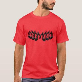 """音楽的な手紙""""M """" Tシャツ"""