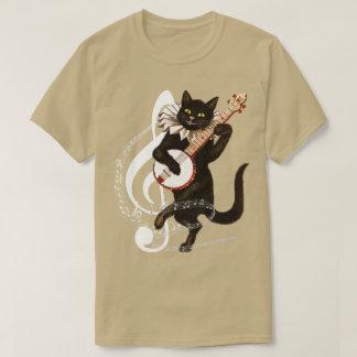 音楽的な猫 Tシャツ