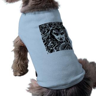 音楽的なcatman犬のコート ペット服